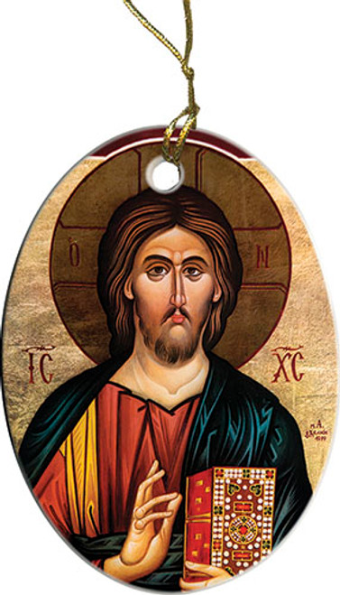 Christ the Teacher III Ornament