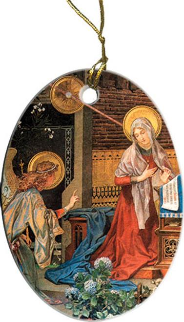 Annunciation of St. Gabriel Ornament