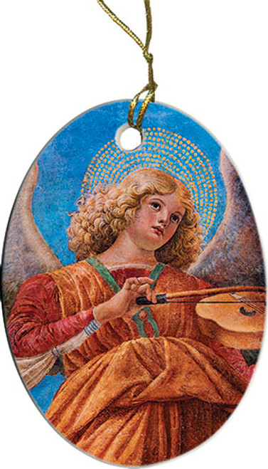 Angel Playing Violin Ornament