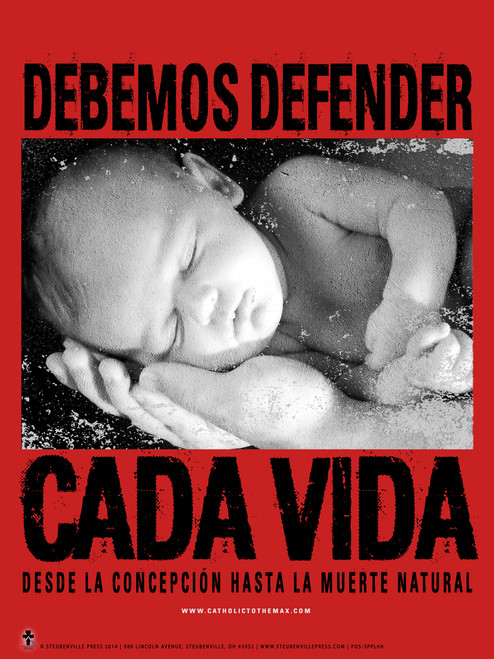 Spanish Defend Life Poster