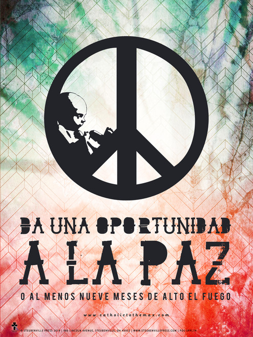 Spanish Give Peace a Chance Poster
