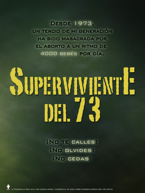 Spanish Survivor '73 Poster