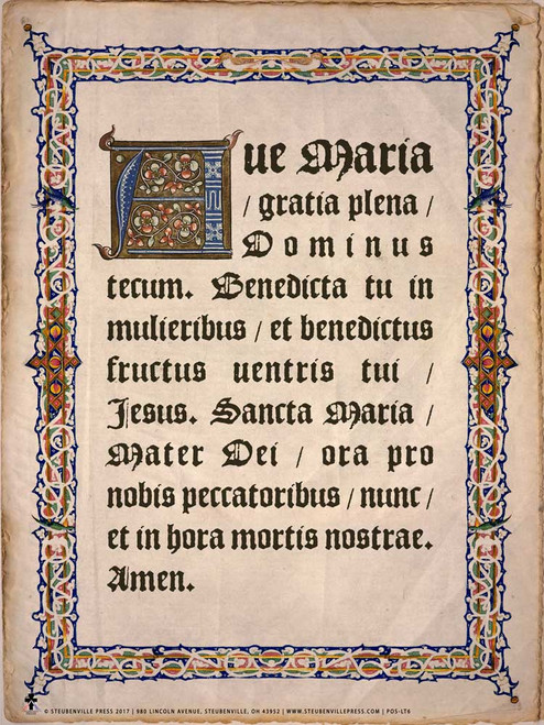 Catholic Prayer Teaching Posters