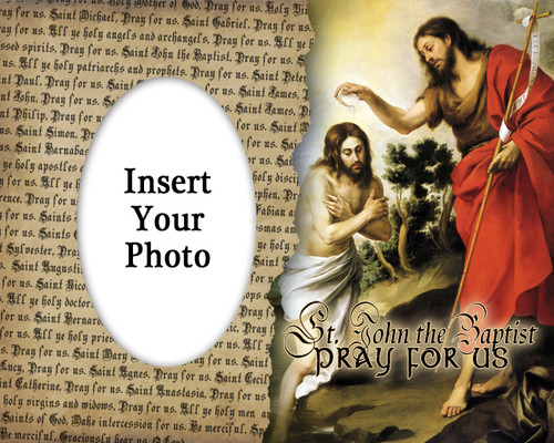 St. John the Baptist Photo Frame 2
