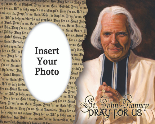 St. John Vianney Photo Frame