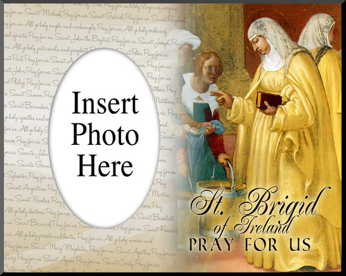 St. Brigid of Ireland Photo Frame
