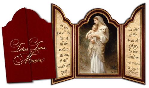 L'Innocence Tri-fold Triptych Cards (Set of 12)