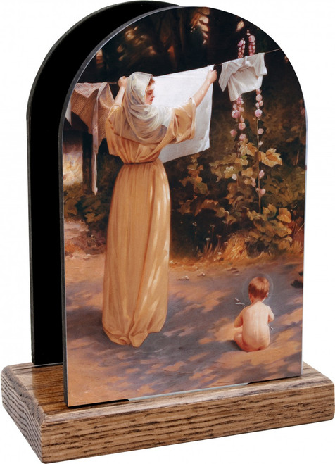 Polish Madonna Table Organizer (Vertical)