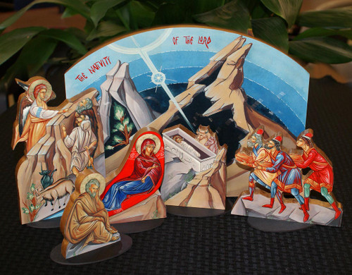 Icon Nativity Set