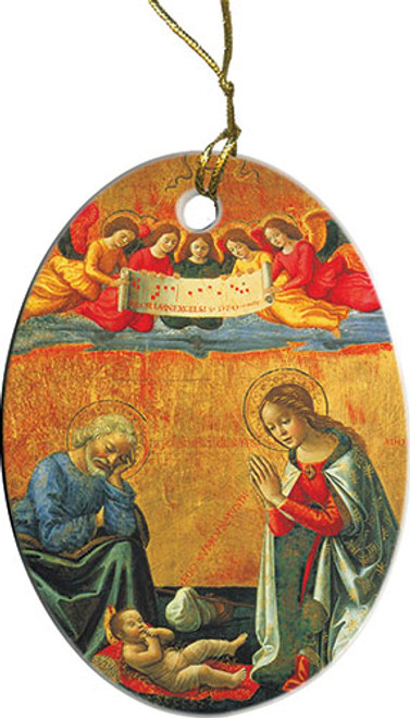 Nativity by Ghirlandaio II Ornament