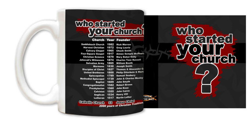 Who Started Your Church Mug