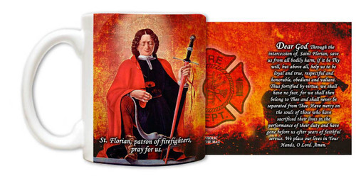 The Fireman's Prayer Mug