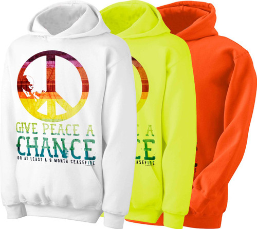 Give Peace a Chance Hoodie
