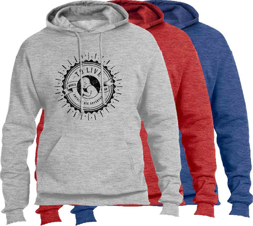 Big Adventure Heather Pro-Life Hoodie