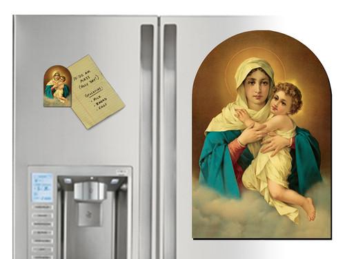Schoenstatt Madonna Arched Magnet
