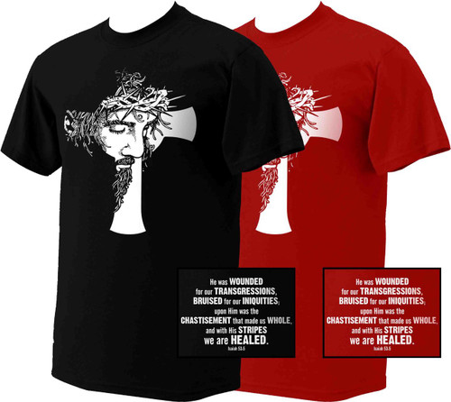 Isaiah 53 Cross T-Shirt