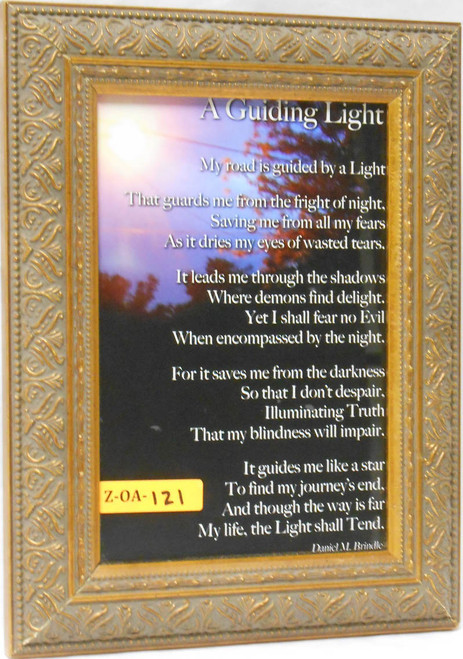 CLEARANCE A Guiding Light 5x8 Framed Print