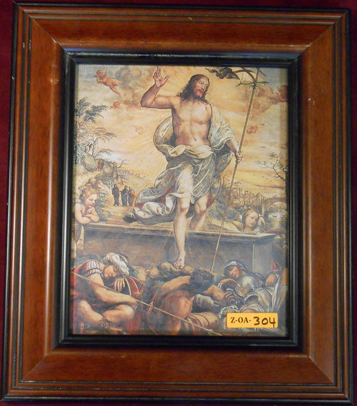 CLEARANCE Resurrection of Christ 8x10 Framed Print