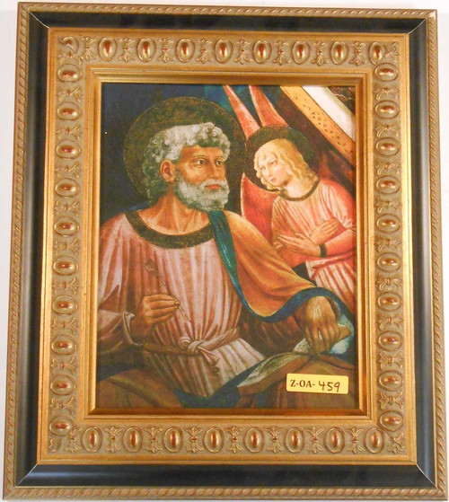 CLEARANCE St. Matthew 8x10 Gold Framed Print