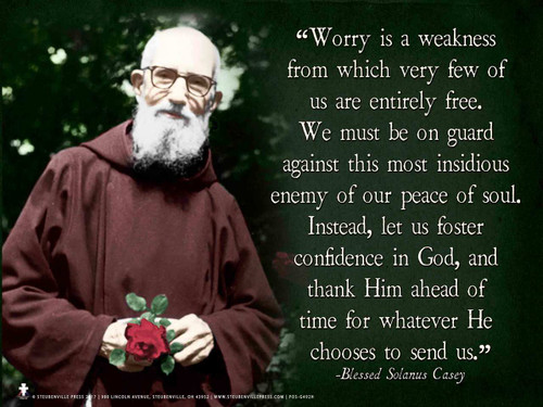 Blessed Solanus Casey, O.F.M. Graphic Poster