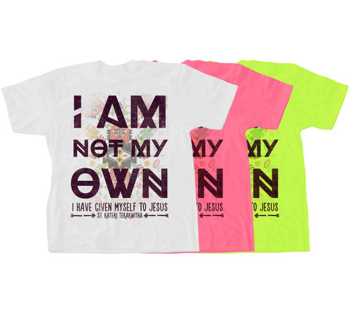 I Am Not My Own: St. Kateri Quote Children's T-Shirt