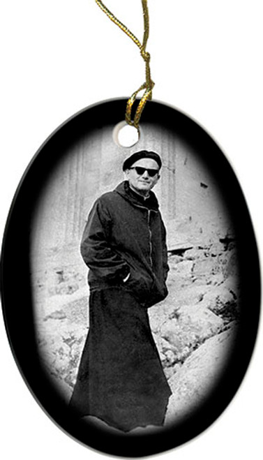 Pope on a Mission Ornament