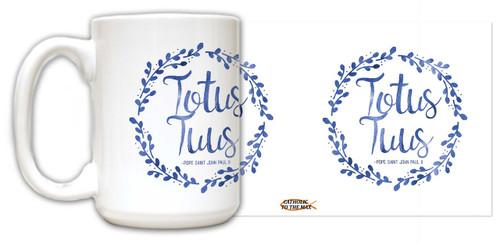 """Totus Tuus"" Pope Saint John Paul II Quote Mug"