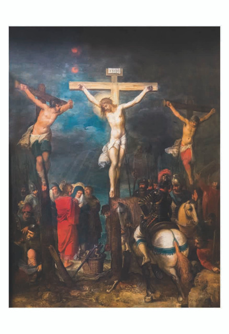 Crucifixion by Frans Francken Print
