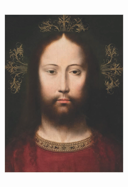 Head of Christ by Gerard David Print