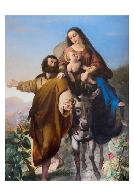 Flight into Egypt Print