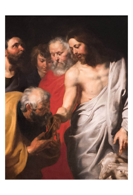 Christ Giving the Keys to St. Peter by Peter Paul Rubens Print
