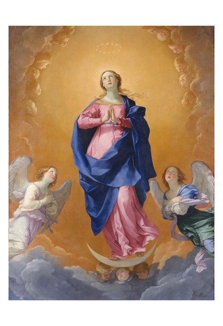 The Immaculate Conception by Guido Reni Print