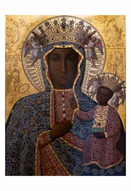 Black Madonna of Czestochowa Print
