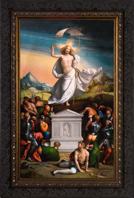 The Resurrection of Christ - Ornate Framed Art