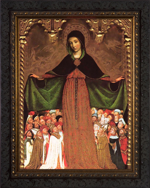 Mother of Mercy - Ornate Framed Art