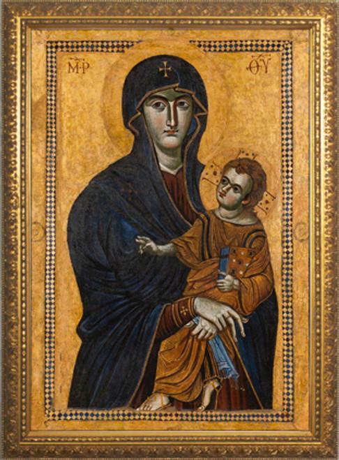 Salus Populi Romani - Standard Gold Framed Art