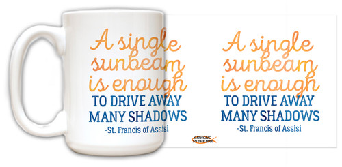 """A Single Sunbeam"" Quote Mug"