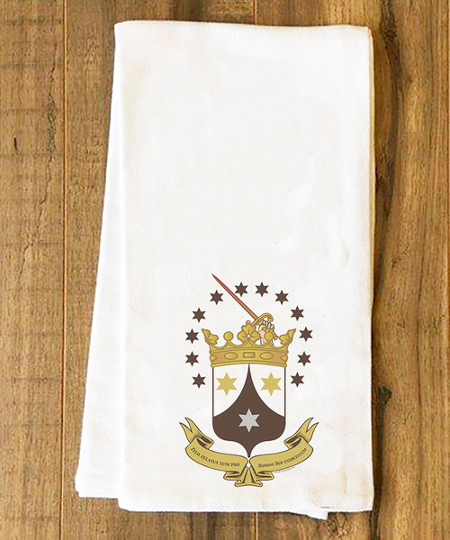 Ancient Carmelite Tea Towel