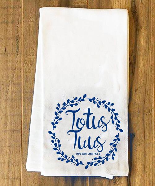Totus Tuus Tea Towel