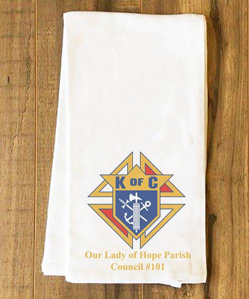 Knights of Columbus Tea Towel