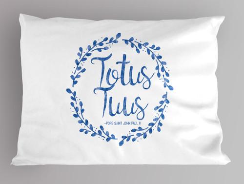 Totus Tuus Pillowcase