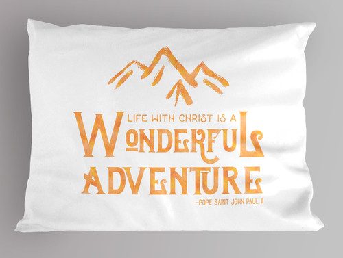 Wonderful Adventure Pillowcase