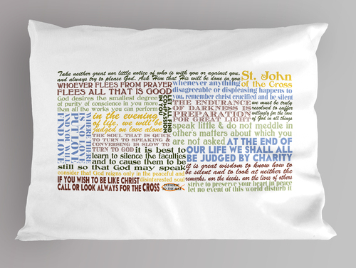 St. John of the Cross Quote Pillowcase