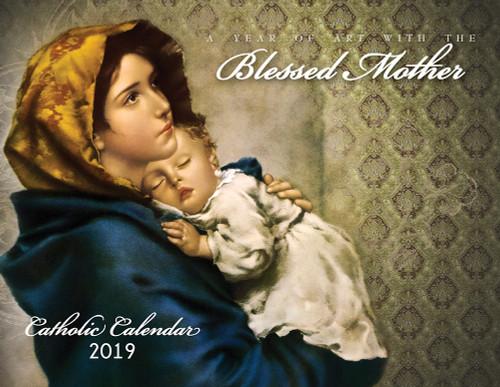 Catholic Liturgical Calendar 2019: Art with Mary