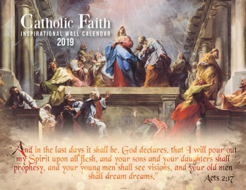 Catholic Liturgical Calendar 2019: Inspirational
