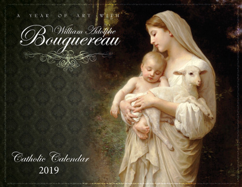 Catholic Liturgical Calendar 2019: William Bouguereau