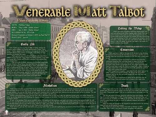 Venerable Matthew Talbot Explained Poster
