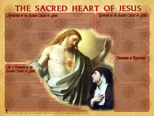 Sacred Heart of Jesus Explained Poster