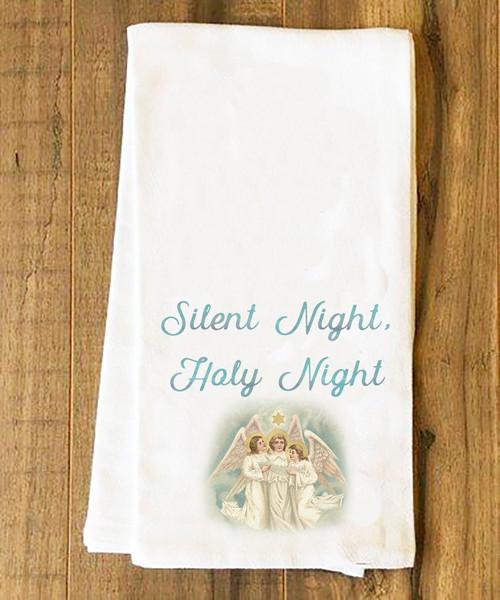Silent Night Tea Towel