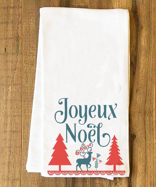 Joyeux Noël Tea Towel